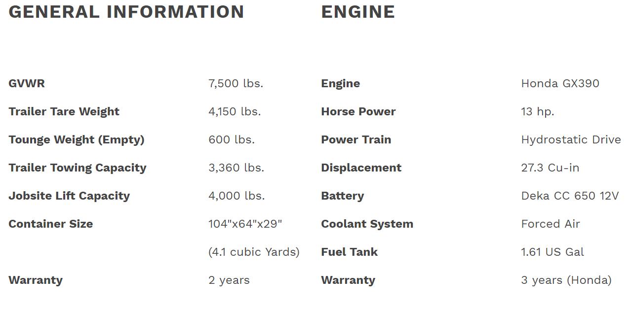 general rd4000 info